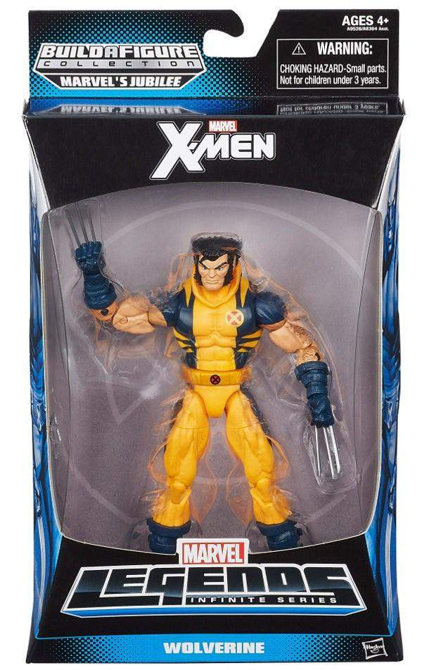 Marvel Legends X-Men - Wolverine (Unmasked)