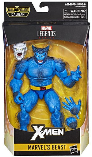 Beast - X-Men Marvel Legends Wave 4 (Caliban BAF)