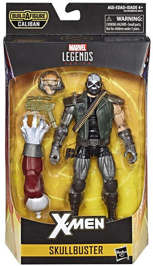 Skullbuster - X-Men Marvel Legends Wave 4 (Caliban BAF)