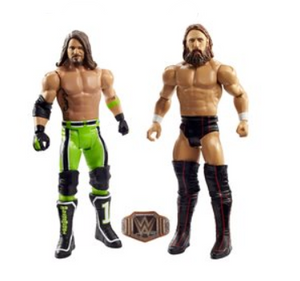 Daniel Bryan vs AJ Styles - WWE Battle Pack Series 64