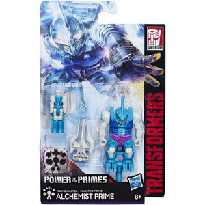 Alchemist Prime in Submarauder Armor - Transformers Generations Prime Masters Wave 2