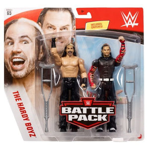 The Hardy Boyz - WWE Battle Pack Series 65