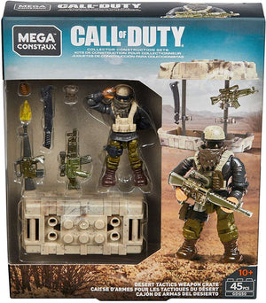 Desert Tactics Weapon Crate - Call of Duty Mega Contrux
