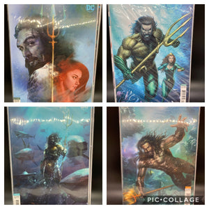 Drowned Earth #42, #1, #11, #12 (Variant Covers)