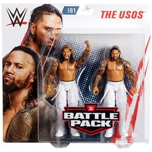 Jimmy Uso and Jey Uso - WWE Battle Pack Series 61