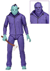 "Friday the 13th - 7"" Scale Figure - Jason (Classic Video Game Appearance with Theme Music Packaging)"