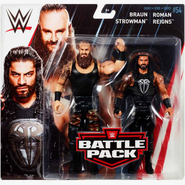 Braun Strowman and Roman Reigns - WWE Battle Pack Series 54