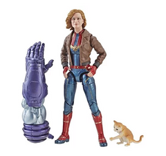 Carol Danvers (Jacket) - Captain Marvel Marvel Legends Wave 1 (Kree Sentry BAF)