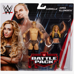 Carmella and James Ellsworth - WWE Battle Pack Series 53