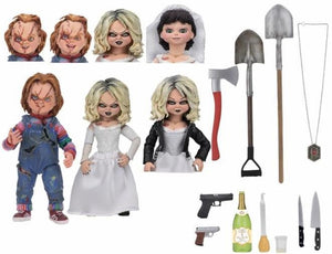 "Chucky - Ultimate Bride of Chucky ""Chucky & Tiffany"" 2-Pack"