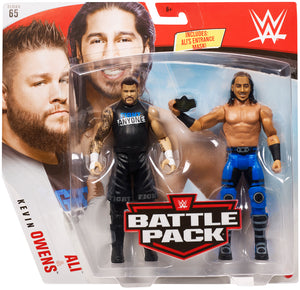 Kevin Owens & Ali - WWE Battle Pack Series 65