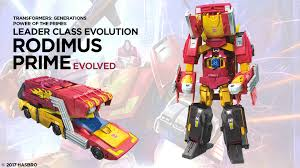 Rodimus Prime (w/ Hot Rod) - Transformers Generations Power of the Primes Leader Wave 3 (Re-Issue)