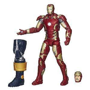 Iron Man Mark 43 -Avengers Marvel Legends Wave 2 Thanos Build a Figure