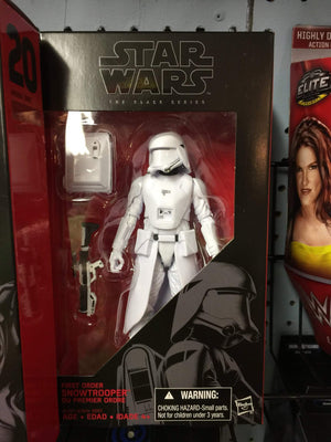 First Order Snowtrooper - Star Wars Black Series 6-Inch Action Figures Wave 6