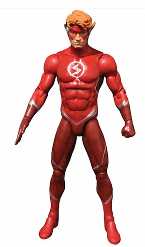Wally West Flash - DC Comics Multiverse Wave 11 (Ninja Batman BAF)