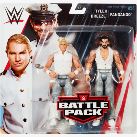 Fandango and Tyler Breeze - WWE Battle Pack Series 54