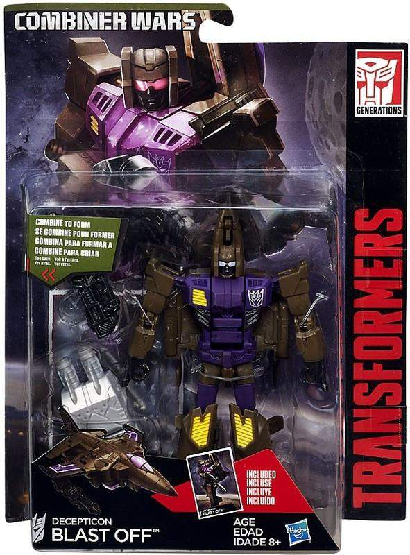 Blast Off Transformers Combiner Wars Deluxe Wave 5 Luke Cades