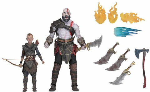God of War (2018) - Ultimate Kratos & Atreus 2 pack