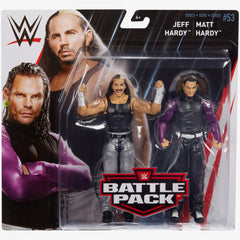 Matt Hardy and Jeff Hardy - WWE Battle Pack Series 53
