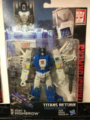 Highbrow - Transformers Generations Titans Return Deluxe Wave 2