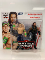 Roman Reigns vs John Cena - WWE Battle Pack Series 56