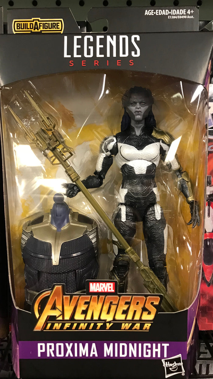 Proxima Midnight - Avengers Inifity War Marvel Legends Wave 1 (Thanos BAF)
