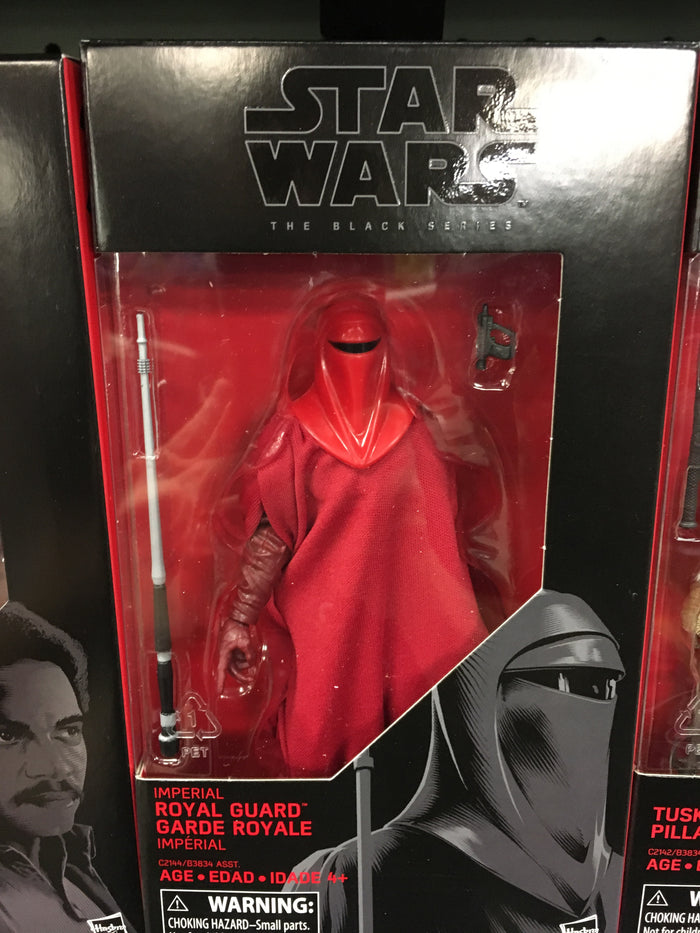 "Imperial Royal Guard - Star Wars Black Series 6"" Wave 11"
