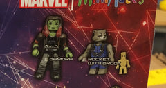 Gamora and Rocket - Marvel Minimates Series 71 GOTG Volume 2