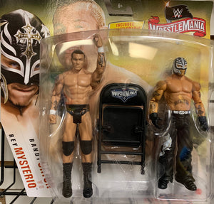 Randy Orton vs. Rey Mysterio (WrestleMania 22) - WWE WrestleMania Battle Pack