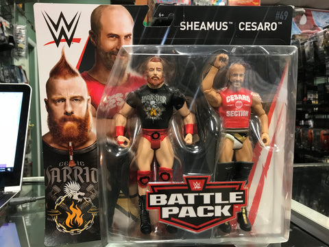 WWE Battle Pack Series 49 - Sheamus and Cesaro