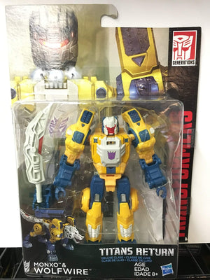 Wolfwire - Transformers Generations Titans Return Deluxe Wave 2