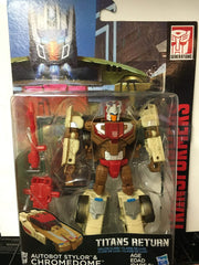 Chromedome - Transformers Generations Titans Return Deluxe Wave 2