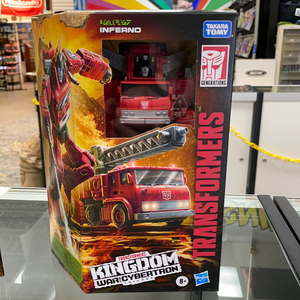 Inferno - Transformers Generations Kingdom Voyager Wave 2