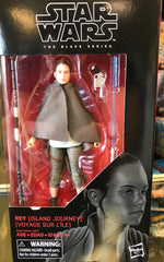 "Rey (Island Journey) - Star Wars Black Series 6"" Wave 17"