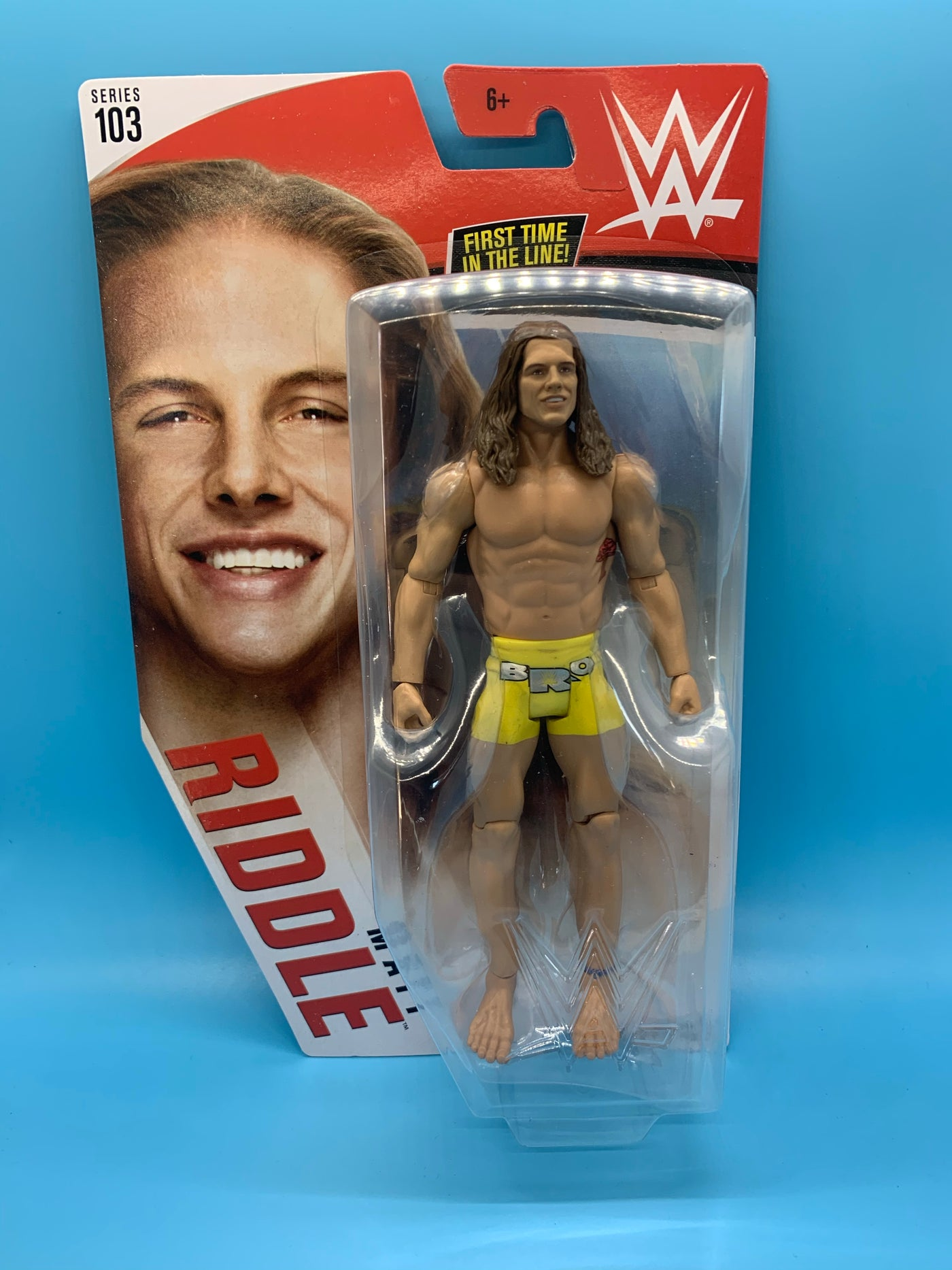 WWE Mattel Matt Riddle Series 103 Basic Figure