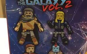 Ego and Ayesha - Marvel Minimates Series 71 GOTG Volume 2