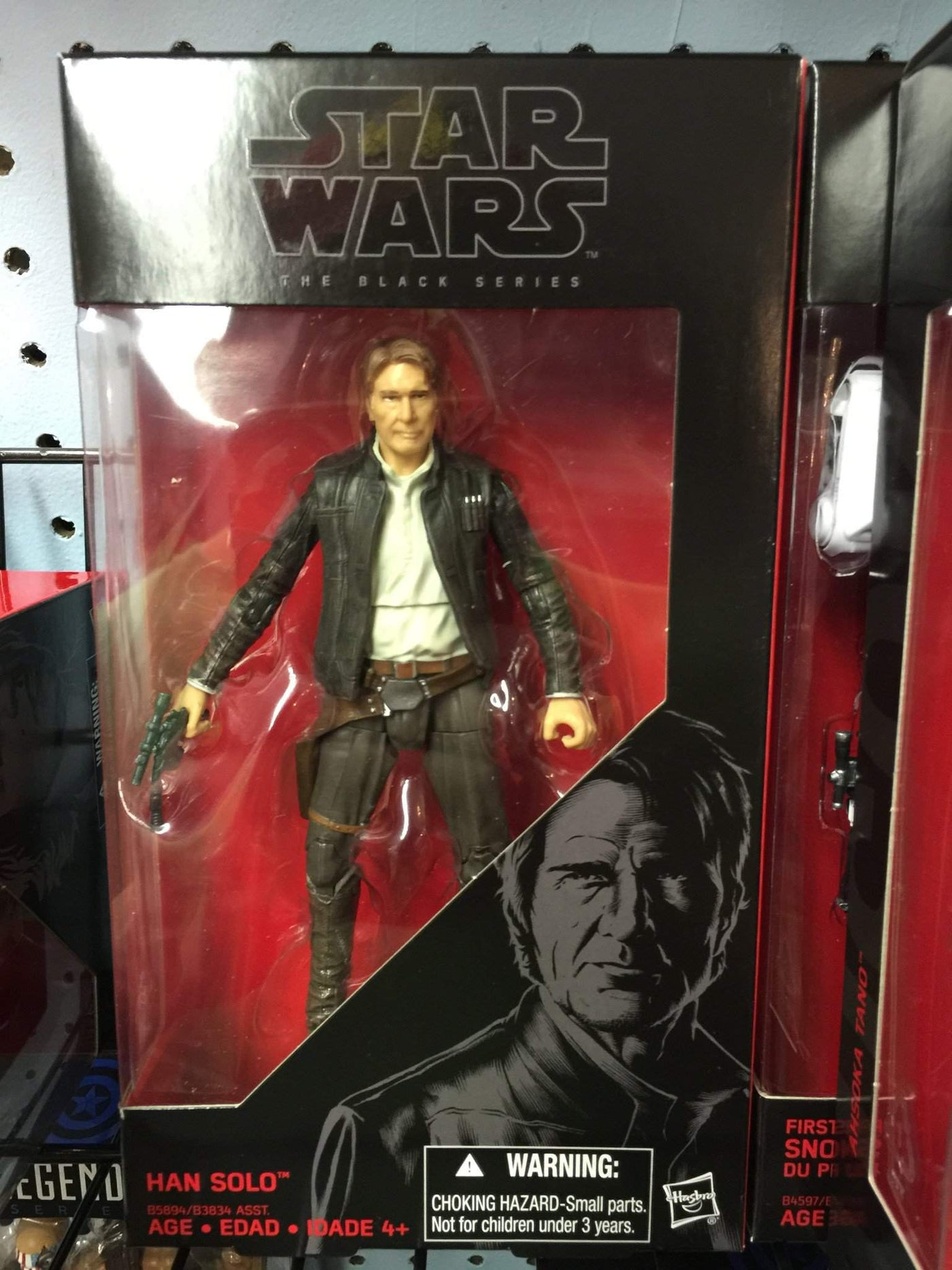 Star Wars Black Series TFA Han Solo 6-Inch Action Figure