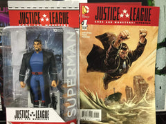 Justice League Gods & Monsters Superman with Jla Gods And Monsters Superman #1