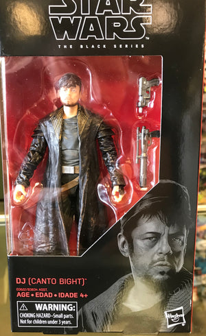 "DJ (Canto Bight) - Star Wars Black Series 6"" Wave 17"
