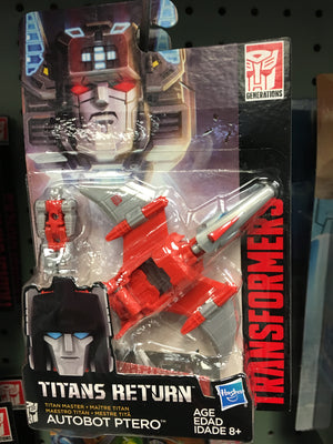 Autobot Ptero - Transformers Generations Titan Masters Wave 3
