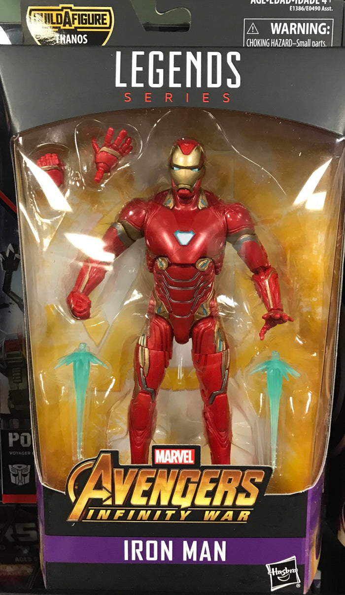 Iron Man - Avengers Inifity War Marvel Legends Wave 1 (Thanos BAF)