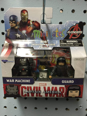Marvel Minimates Series 66 - Comic shop-exclusive War Machine with Navy Seal