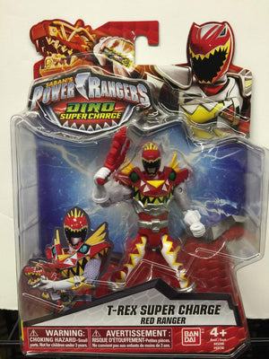 T-Rex Super Charge Red Ranger - Power Rangers Dino Super Charge 5In Action Figure