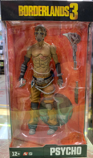 Psycho - Borderlands 7In Action Figure
