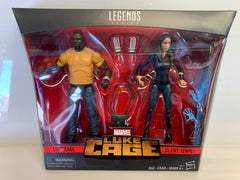 Marvel Legends Luke Cage and Claire Temple