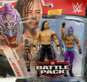 Shinsuke Nakamura vs Rey Mysterio - WWE Battle Pack Series 62