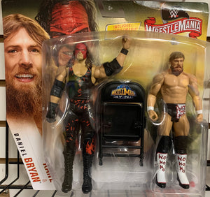Kane and Daniel Bryan (Team Hell No, from WrestleMania 29) - WWE WrestleMania Battle Pack
