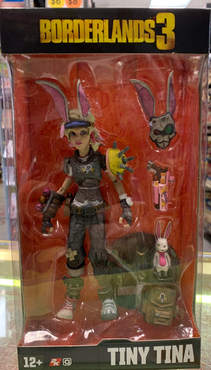 Tiny Tina - Borderlands 7In Action Figure