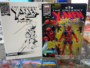 X-Men Retro Marvel Legends Deadpool