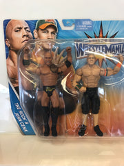WWE WrestleMania 2-Pack -The Rock and John Cena